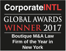 corporateINTL global award winner 2017
