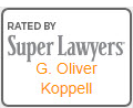 Rated by Super Lawyers G.Oliver Koppell