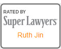 Rated by Super Lawyers Ruth Jin
