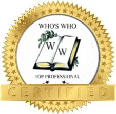 Who's Who Top Professional certified
